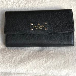 """Kate spade """"Wellesley Jean"""" wallet - black"""